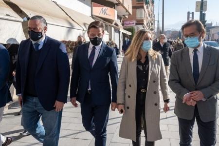 reurbanización del primer tramo de Arabial-Palencia en Granada