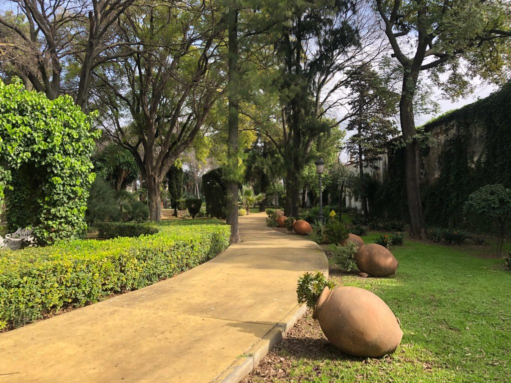 Jardines del palacio de Atalaya